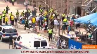 Boston Bombings Eyewitness: Chaos, People Running Everywhere