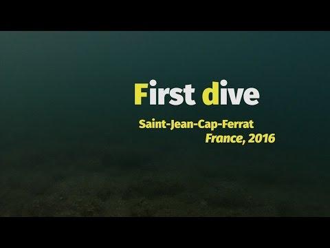 Diving with Tribord EasyBreath (France, Saint-Jean-Cap-Ferrat)
