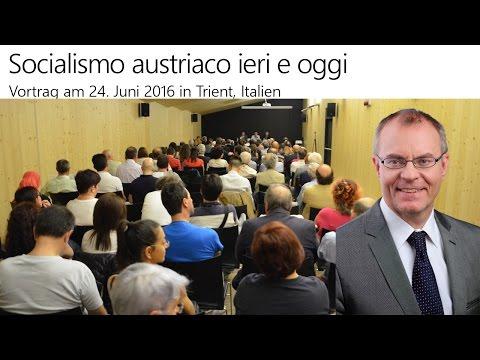 Österreichischer Sozialismus: gestern & heute - Vortrag in Trient, Italien