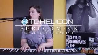 TC HELICON | PERFORM-VK Vocal Effects Processor | Learn about Pro Vocals