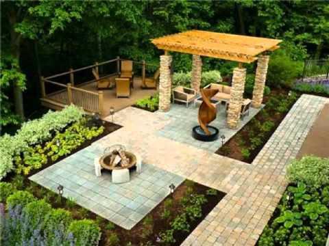 ออกแบบจัดสวน การจัดสวนหน้าบ้านเล็กๆ การจัดสวนดอกไม้ขนาดเล็ก จัดสวนพื้นที่กว้าง