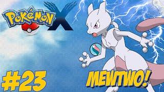 Pokémon X - Nova Jornada #23 / Capturando o Lendário MEWTWO!!
