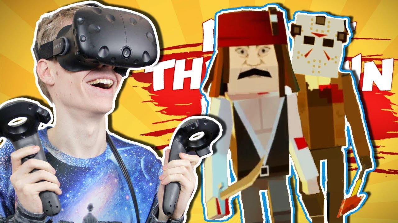 BATTLE ROYALE VR! | KungFu Town VR (HTC Vive Gameplay)