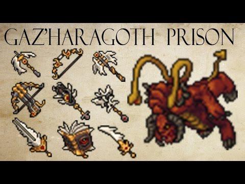 Tibia - Boss : Gaz'Haragoth (Prison)