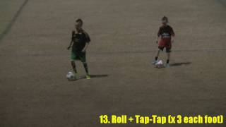 soccerskills4kids.com - 15 Ball Control Drills for Beginning Football/Soccer Players (ages 3-11)