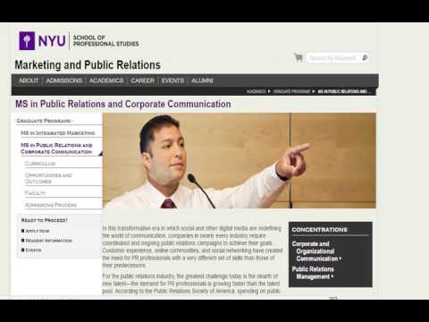 online masters degree in corporate communications