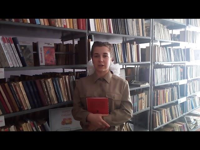 Изображение предпросмотра прочтения – ВероникаБухалева читает произведение «Сотый день» Ю.П.Воронова