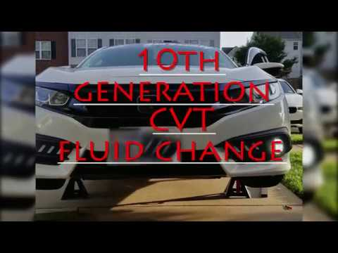 Honda Civic 10th Gen Cvt Transmission Fluid Change