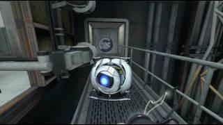 Portal 2 - Gameplay - Début du jeu - Chapitre 1 : Appel de courtoisie - FR HD [1/3]