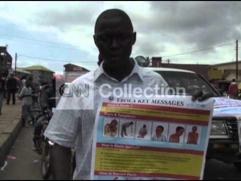 SIERRA LEONE: EBOLA PREPARATIONS IN FREETOWN