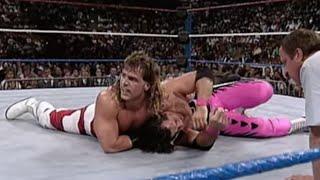 Bret Hart vs Shawn Michaels from WWE Survivor Series 11/25/92