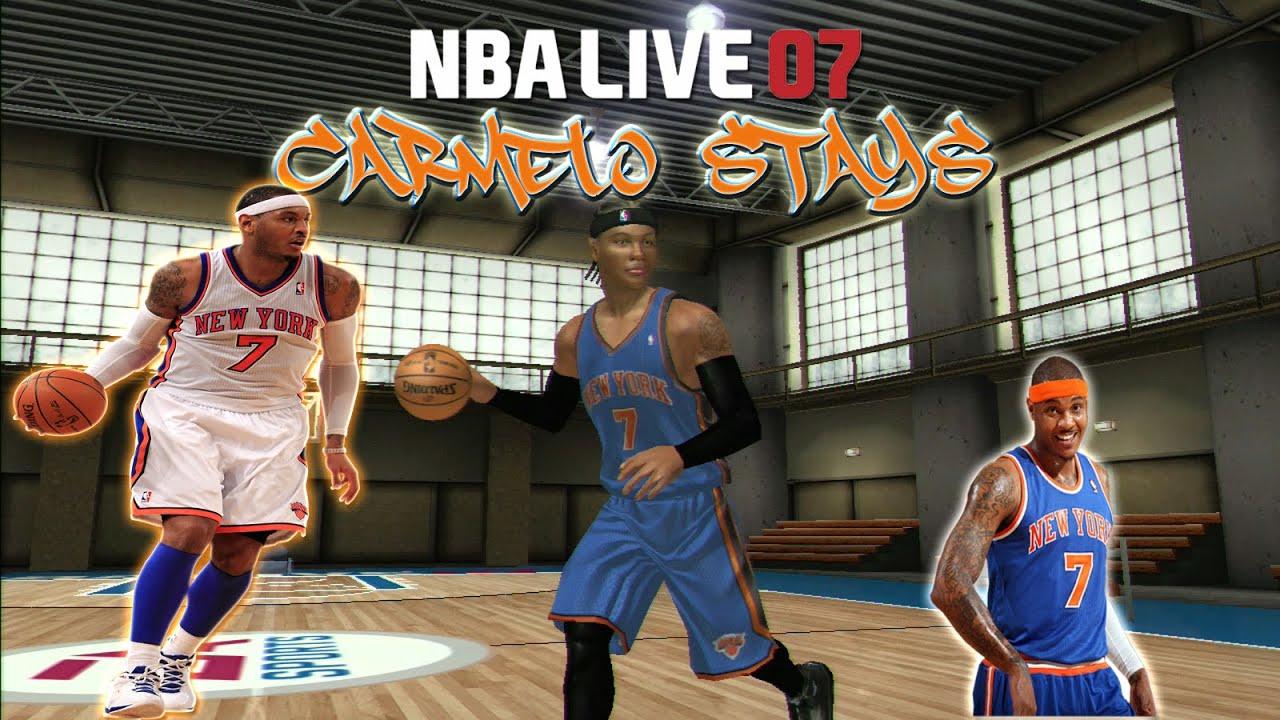 NBA Live 2007 - (Xbox) - 1080p HD | Carmelo Anthony Stays ...
