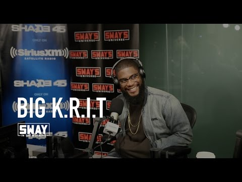 Big K.R.I.T FREESTYLE & Interview on Sway in the Morning