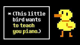 Bird That Carries You Over A Disproportionately Small Gap (from Undertale) - Piano Tutorial