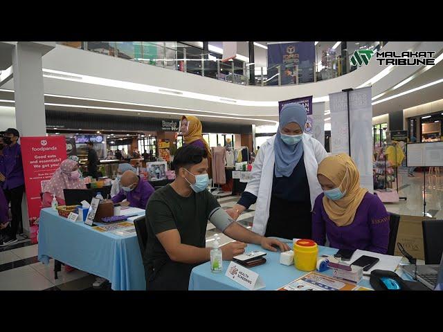 Malakat Mall Anjur Program Kawal Kencing Manis bersama Eskayvie