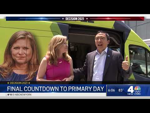 NYC Mayor Race: Hours Left Before Primary Day Begins   NBC New York