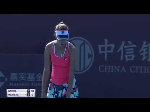 Caroline Garcia vs Elise Mertens - China Open 2017