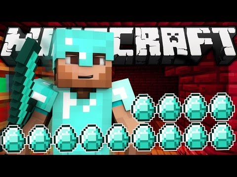 Thumbnail: If a Diamond Bar was Added to Minecraft