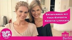 Yoga-Star Kerstin Linnartz verrät Entspannungsübungen bei Talk'n Town
