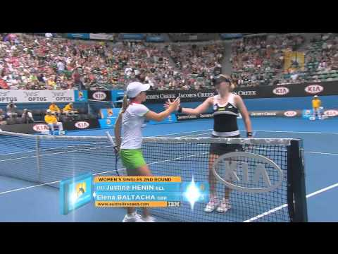 Match point: Henin v Baltacha