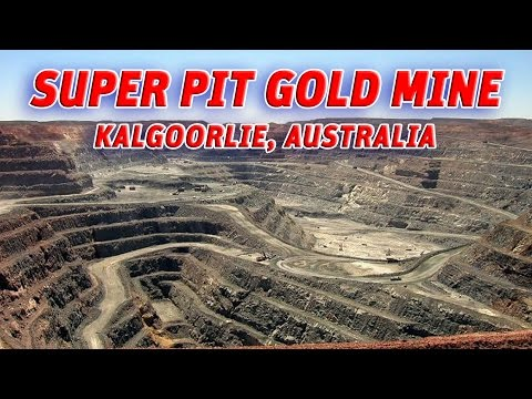 The Giant Holes:  Super Pit gold mine, Kalgoorlie-Australia #Vendora