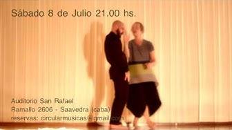 CIRCULAR Danza con Kirstie Simson (UK) y Martín Piliponsky (Arg)