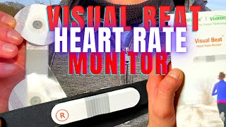 ECG Heart Rate Monitor Visual Beat Review | Chest Strap & Strap-Less HRM