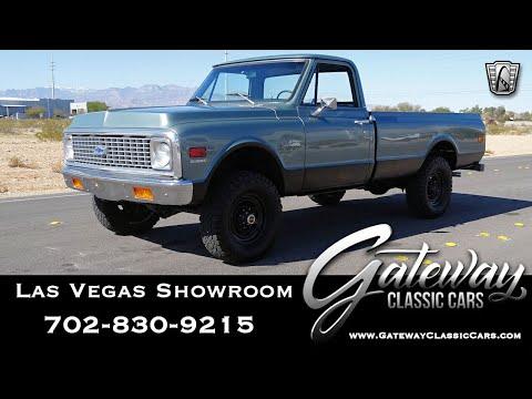 1972 Chevrolet Cheyenne 20 For Sale Gateway Classic Cars Las Vegas #258-LVS