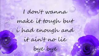 Nsync Bye Bye Bye (Remix) Lyrics