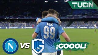 ¡Doblete de Milik! | Napoli 2 - 0 Genk | Champions League - J6 - Grupo E | TUDN