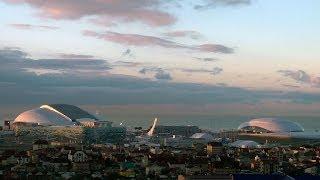 El primer amanecer olímpico en Sochi