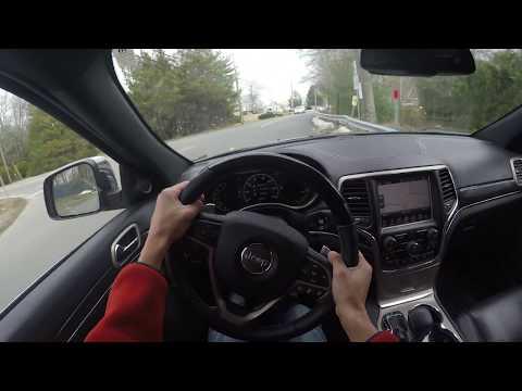 4K (POV) Test Drive: 2018 Jeep Grand Cherokee Overland (Binaural)