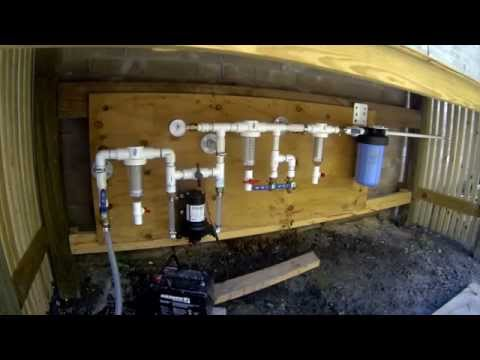 How to Filter and Purify Rainwater ( Earthship Style WOM )