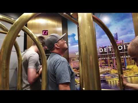 Hi-Speed, Obnoxious Otis Elevators - Detroit Marriott at the Renaissance Center (Detroit, MI)