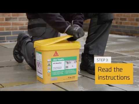 Sika Fastfix All Weather Paving Compound
