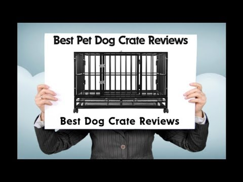 Best Pet Dog Crate Reviews - ( Crown Pet Products Wood Pet Crate End Table Review )