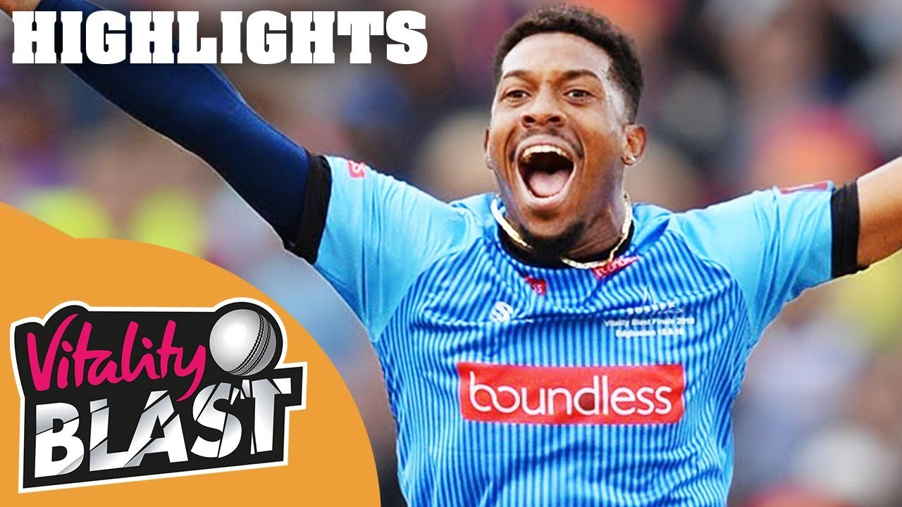 Wright Smashes Sussex to Final   Sussex v Somerset   Vitality Blast 2018 - Highlights