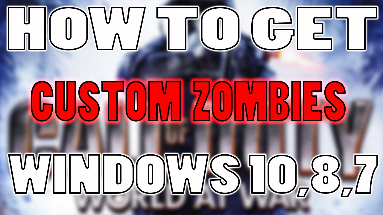 How to get custom zombie maps on pc for world at war updated youtube how to get custom zombie maps on pc for world at war updated gumiabroncs Image collections