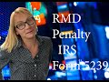 How to avoid RMD Penalty. Avoid 50% penalty with IRS Form 5329. IRA, 401(k) 2020