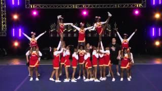 Brooklyn Chief Cheerleaders cheer 2015