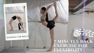 7 MINUTE BACK EXERCISE FOR FLEXIBILITY