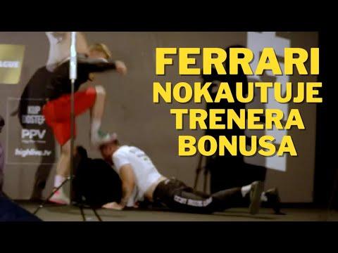 Amadeusz Ferrari NOKAUTUJE