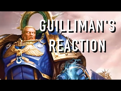 Guillimans Reaction to the Present Day Imperiumin Warhammer 40K