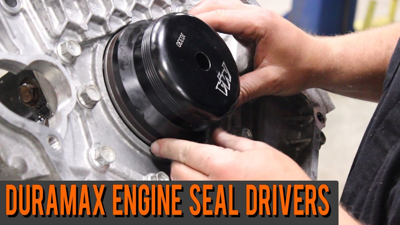 small resolution of duramax engine seal drivers front rear