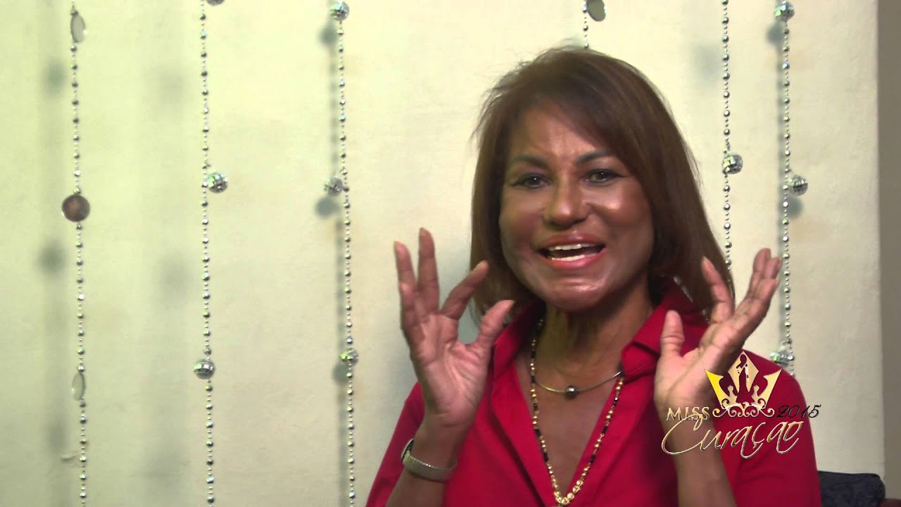 1st Miss Universe >> Miss Curaçao 2015 with 1st Runner Up Miss Universe 1968 Annemarie Braafheid - YouTube