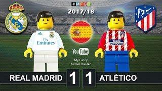Real Madrid vs Atlético de Madrid 1-1 • LaLiga 2018 (08/04/2018) Goal Highlights Film Lego Football