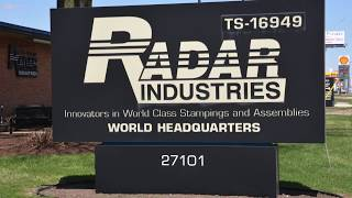 Radar Industries Oil Pan