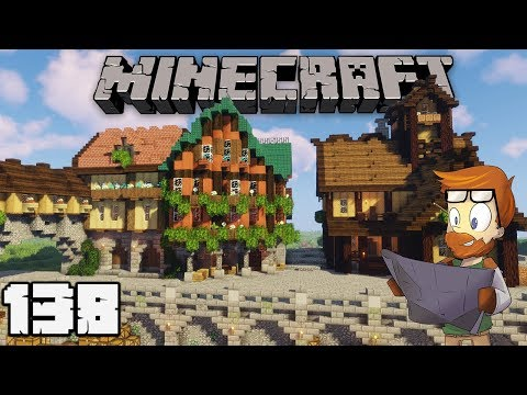Building with fWhip : HARBOR INN #138 MINECRAFT 1.13 Let's Play Single Player Survival