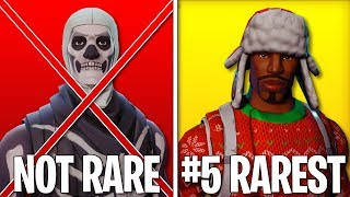 The RAREST SKINS Remaining in Fortnite Battle Royale! (UPDATED)
