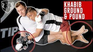 Скачать Khabib Ground Pound Tactics MMA Partner Drill